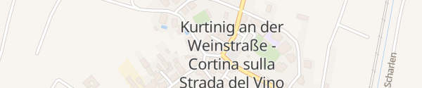 Karte Hotel Teutschhaus Cortina Sulla Strada del Vino