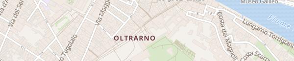 Karte Piazza dei Pitti Firenze
