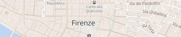 Karte Piazza della Signoria Firenze