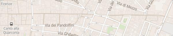 Karte Piazza di San Pier Maggiore Firenze