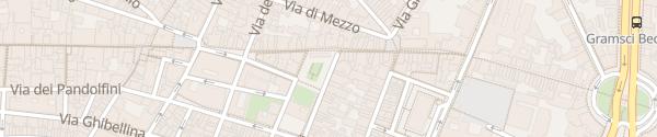 Karte Piazza dei Ciompi Firenze