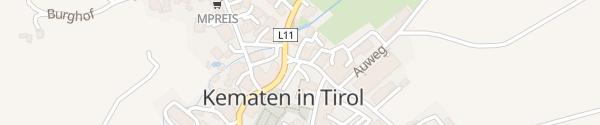 Karte Birkenweg Kematen in Tirol