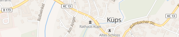 Karte Am Rathaus Küps