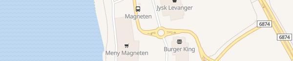 Karte Magneten Levanger