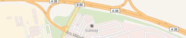 Karte IONITY 24-Total Autohof Sangerhausen