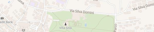 Karte Imperial Grand Hotel Levico Terme