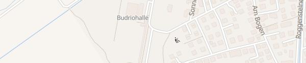 Karte Budriohalle Eichenau