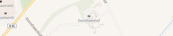 Karte Hotel Dorotheenhof Weimar