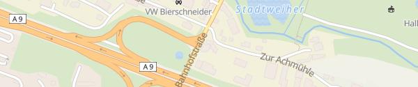 Karte BayWa-Tankstelle Greding A9 Greding