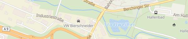 Karte OMV Tankstelle Greding