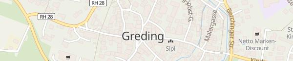 Karte Rathaus Greding