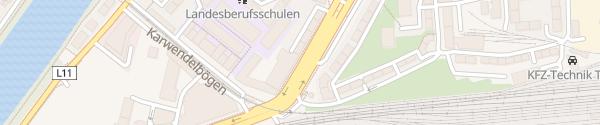 Karte Egger-Lienz-Straße Innsbruck