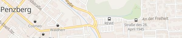 Karte Mitsubishi Autohaus Schwerdtner Penzberg