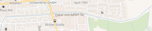 Karte Netzcenter Bayernwerk Penzberg