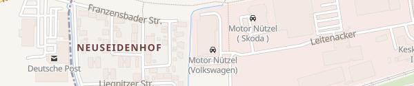 Karte Motor-Nützel Kulmbach