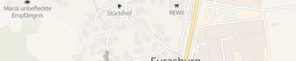 Karte Beuerberger Straße Eurasburg