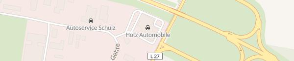 Karte Hotz Automobile Gardelegen