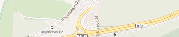 Karte Autohaus Ahnefeld Schwerin