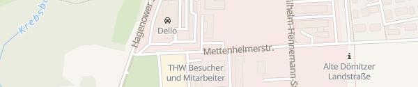 Karte Technologie- und Gewerbezentrum Schwerin