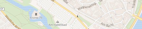 Karte Hallenbad Ingolstadt
