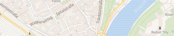 Karte Donaustraße Ingolstadt