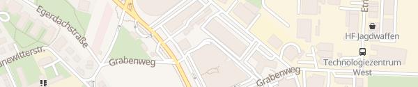 Karte Tiefgarage Greif Center Innsbruck