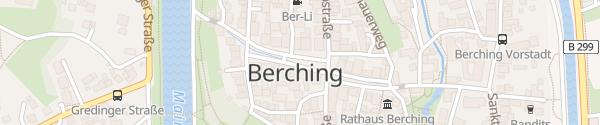 Karte Reichenauplatz Berching