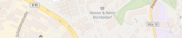Karte Landratsamt Kulmbach