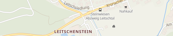 Karte Am Erlebnisbad Steinwiesen