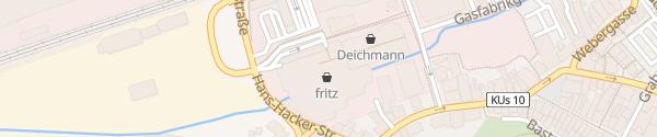 Karte fritz Einkaufszentrum Kulmbach