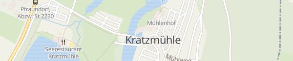Karte Wirtshaus zur Kratzmühle Kinding