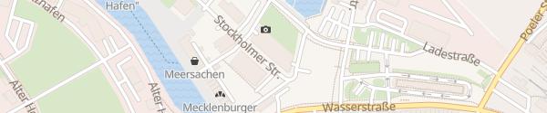 Karte Parkhaus Altstadt-Hafen Wismar