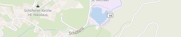 Karte Bildungshaus St. Michael Pfons