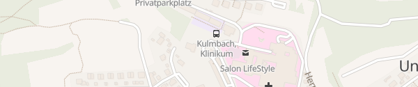Karte Klinikum Kulmbach