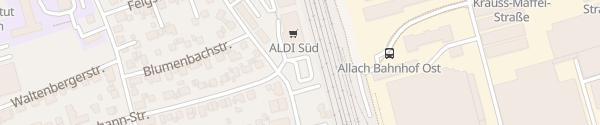 Karte Aldi Süd Allach München