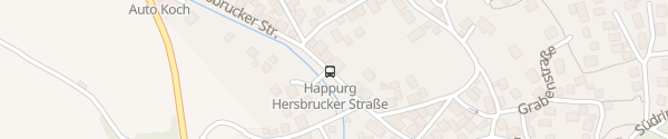 Karte Hersbrucker Straße Happurg