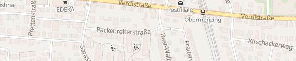Karte Packenreiterstraße München