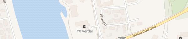 Karte Coop Extra Verdal
