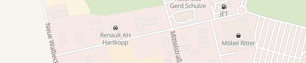 Karte Autohaus KW am Südharz Hettstedt