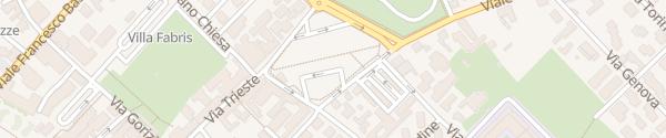 Karte Al Bosco dei Preti Thiene