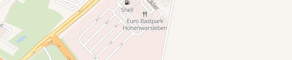 Karte IONITY Euro Rastpark Hohenwarsleben