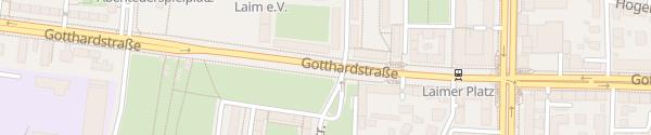Karte Gotthardstraße München