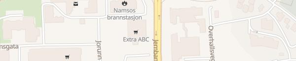 Karte Coop Extra Namsos
