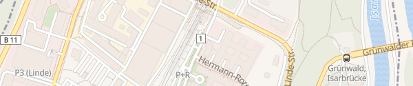 Karte SIXT Autovermietung Pullach