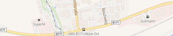 Karte Der Reschenhof Mils