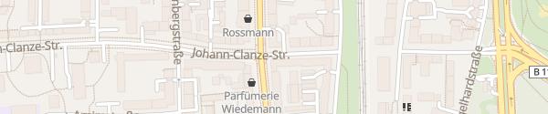 Karte Johann-Clanze-Straße München