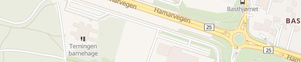 Karte Terningen Arena Elverum