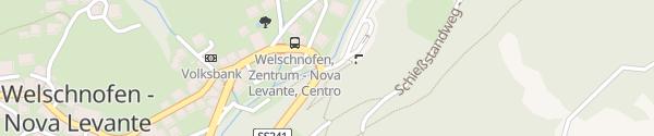 Karte Parkplatz Talstation Carezzabahn Welschnofen