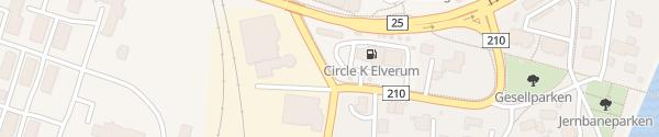 Karte Circle K Elverum