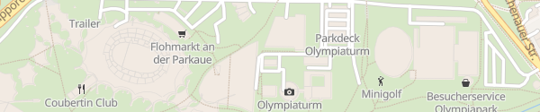 Karte Olympiaturm München